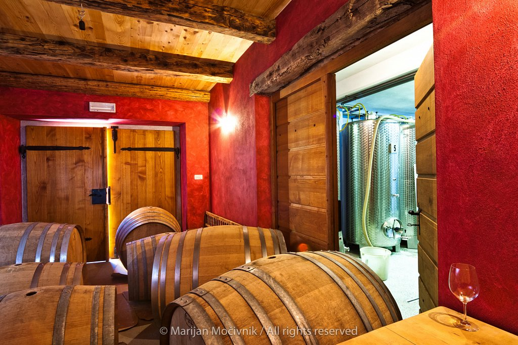 Sutor winery, Vipava Valley, Slovenia