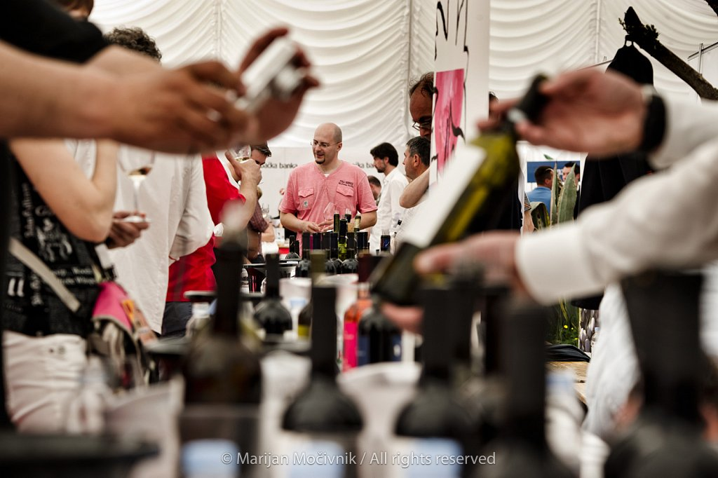 Wine Festival, Makarska, Dalmatia, Croatia