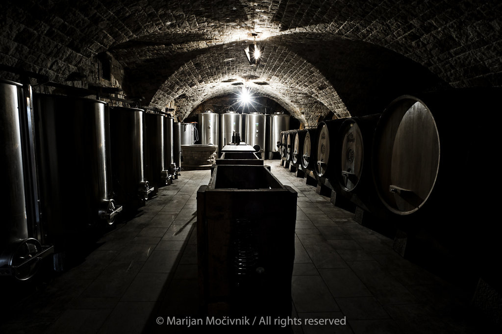 Kovačič Ravbar Winery, Kras, Slovenia
